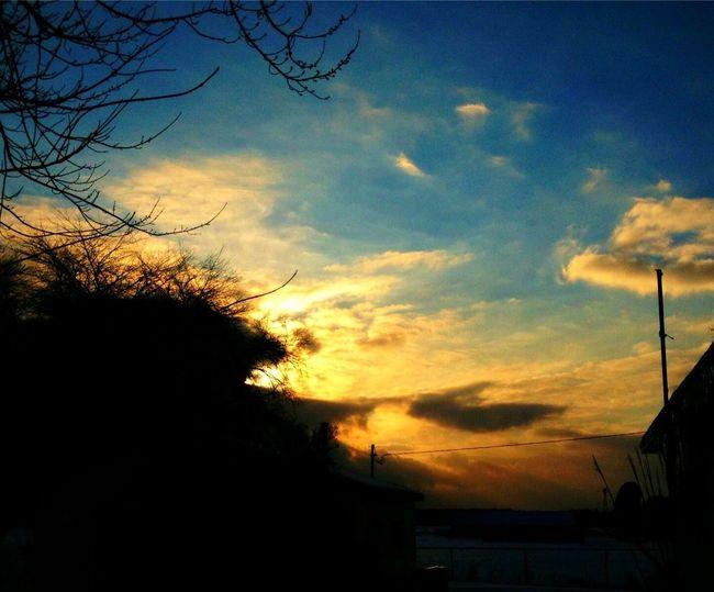 Sunset Fiery Sunset... Skyporn