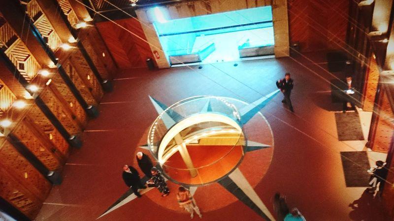 Auditorio Entrada Interior Relajo Momento Illuminated Close-up Architecture