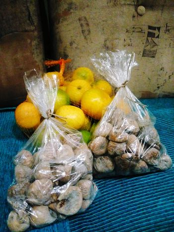 Food And Drink Fruit Indoors  No People Citrus Fruit Healthy Eating Food Freshness Close-up Day Figs Tangerine Dried Fruit