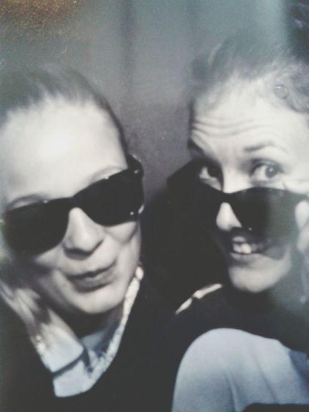 Fotografiska Automat Selfie Blackandwhite