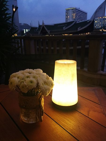 Candlelight Table Night No People Flower Collection Dinner Time Romantic Pier Dinner Table Dinner Date
