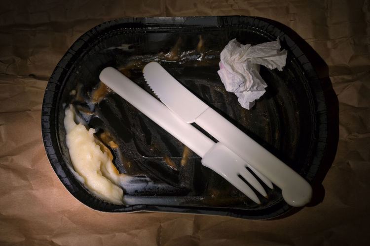 leftovers - fast food Fast Food Mashed Potatoes TV Dinner Trash Food Garbage In A Hurry  Leftovers Paper Plate Plastic