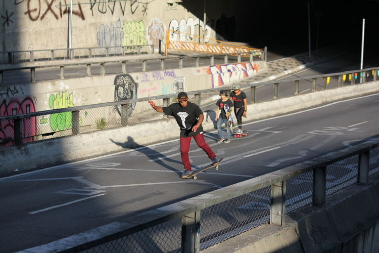 Skateboarding São Paulo Architecture City Cityscape Photography Clothing Day Exercising Full Length Graffiti Healthy Lifestyle Leisure Activity Lifestyles Men Motion Outdoors Real People Road Sign Sport Symbol Urban Landscape Vitality Adventures In The City