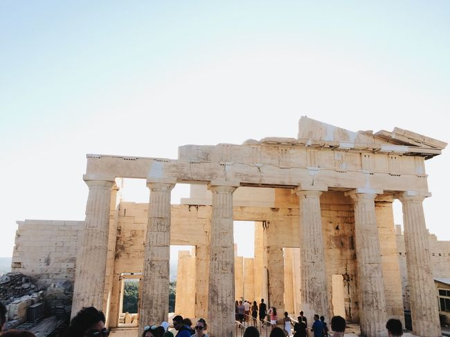 Parthenon Acropolis Greece Tourism Travel Destinations Archaeology Old Ruin History Ancient Ancient Civilization Large Group Of People Architecture Travel Monument Vacations Parthenon Greece Athens Connected By Travel Mobility In Mega Cities