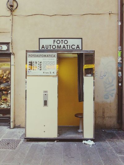 Florence Italy Italia Door No People Streetphotography Photobooth