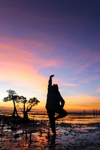 sumba timur City Full Length Sunset Beach Men Silhouette Sand Water Sky Travel