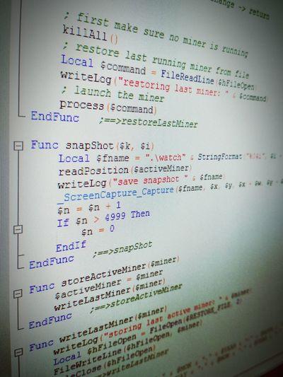 Technology Data Full Frame No People Indoors  Close-up Programming Programming Code Source Code Program IT Industry Computer Computer Screen Programming Language