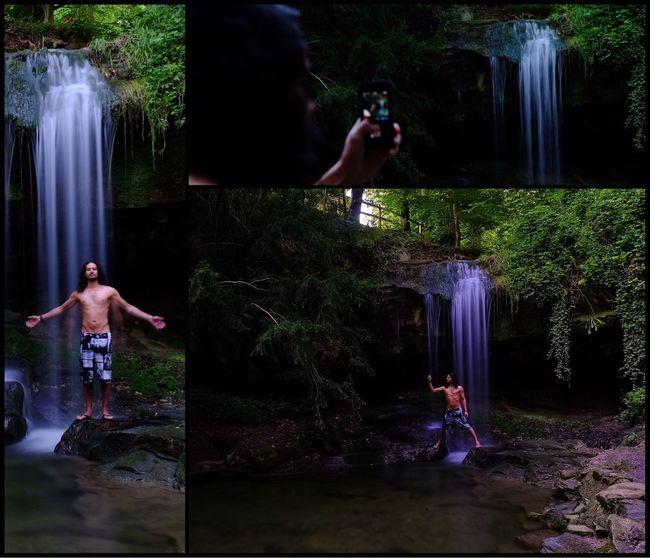 waterfall and remote apps... on the way with my Fuji X-T1 Waterfall Wasserfall Fujifilm_xseries FUJIFILM X-T1 Fujifilm Fuji Fujifilmxt1 Waterfall Photography