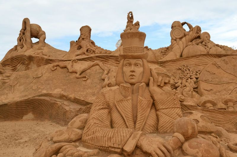 Sand Sculptures Sand Sculpture Sand Sculpture Park