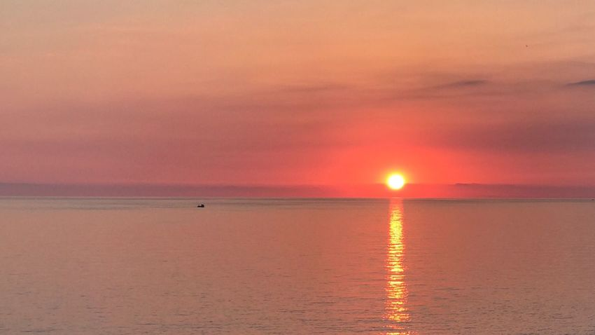 Gianni Lo Turco In Front Of Sicily Sunset Beauty In Nature Scenics Sun Nature Tranquility Tranquil Scene Sea Reflection Water Idyllic Horizon Over Water Sky Orange Color Dramatic Sky Outdoors Cloud - Sky Awe No People Travel Destinations Sun_collection Sunset Silhouettes Sunset_collection