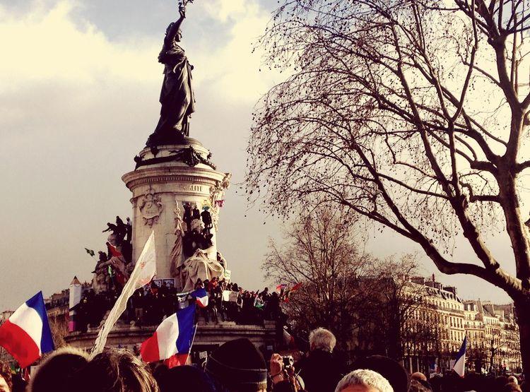 Jesuischarlie Freedom Republique Liberté Republic Paris 11janvier2015