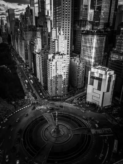 Columbus Circle Manhattan - New and white photography of Columbus Circle. Cityscape Black And White Photography Central Park Architecture Big City Life Travel Telephone Photography Manhattan Vertical Portrait Photography New York Columbus Circle EyeEmNewHere Built Structure Pattern Full Frame Backgrounds Architecture Building Exterior Building City Transportation Outdoors High Angle View Large Group Of Objects Day City Life Motion Close-up