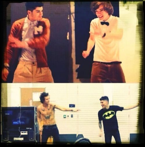 Old Times... One Direction ❤ Zyan Malik Harry Styles