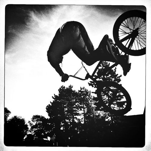 Blackandwhite Skatepark Bmx  Bike Week