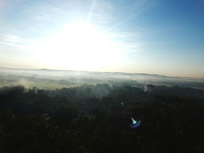 Sun Outdoors Sky Sunlight Aerial View No People Nature Landscape City Wates INDONESIA Beauty In Nature