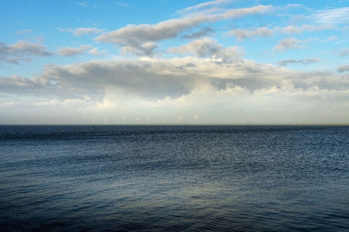 Beauty In Nature Cloud - Sky Day Horizon Over Water Natur Nature Nature Nature_collection No People Outdoors Scenics Sea Sky Tranquil Scene Tranquility Unesco UNESCO World Heritage Site Water Windmill Windmills The EyeEm Collection Premium Collection Getty Images