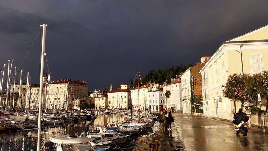 Piran/Pirano Slovenia Ligth And Dark Afterrain Afterrain