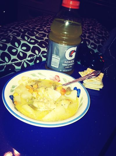 Soup for the sick! :(
