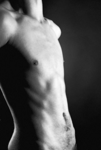 Male Form Nude-Art Blackandwhite