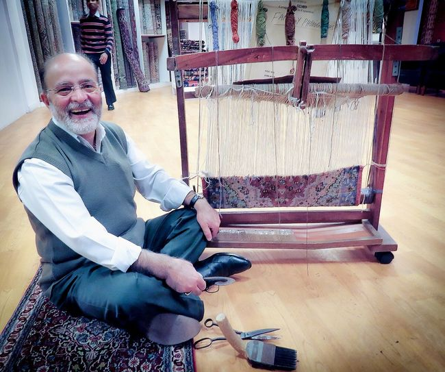 Indian Culture  Dehli Rajasthan Jaipur Carpetweaver Friendly People SmilingFace Smiling Man Man From India Indian Style