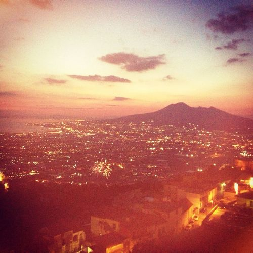 My City ❤ My Big Love Vesuvio Sky's The Limit Sea Infinity ∞ Forever Sangue Napoletano💙 Naples🌊💙