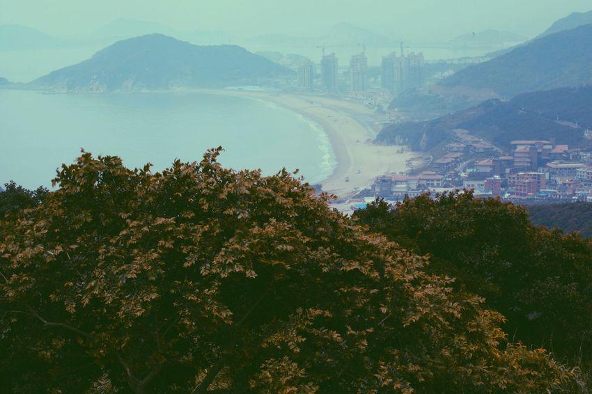 Shengsi Rainy Days Living Hello World City Life Seaside Sea And Sky