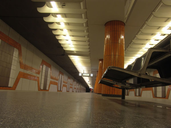 Architectural Column Architecture Building Built Structure Ceiling Direction Electric Light Flooring Illuminated In A Row Indoors  Light Lighting Equipment Long No People Public Transportation Subway Surface Level The Way Forward Transportation Underground Walkway Underpass Wall - Building Feature