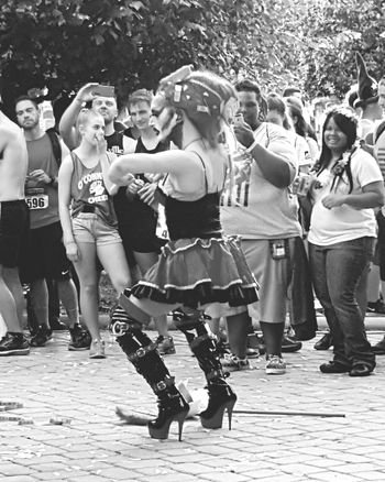 Hanging Out Check This Out Eyem Best Shots Black Blackandwhite Eyem Around Me Washington, D. C. Dragqueen  Pride Eyem Best Shots - Black + White Eyemphotography People Watching People Of EyeEm People And Art People Are People Black And White Photography Black And White Collection  Black And White Washington DC Pride2016 My Streets The Street Photographer - 2016 EyeEm Awards Streetphotography Streetphoto_bw