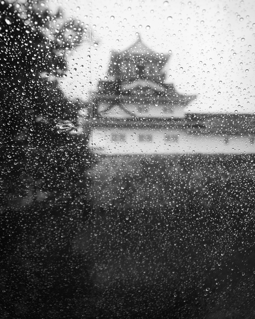 window, rain, drop, wet, glass - material, weather, rainy season, looking through window, raindrop, water, full frame, condensation, windshield, backgrounds, close-up, land vehicle, day, indoors, no people, snowing, sky