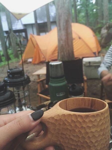 2016.7.3.sun. ひるがの高原の朝。 Camp キャンプ ストームキング Outfitter Tent Msr ひるがの高原キャンプ場 Coffee Morning 雨 Rain