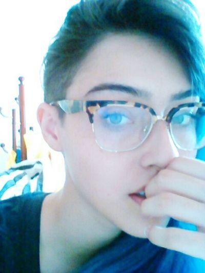 Sidecut Blue Hair Hairstyle New Haircut Hair mei carequinha e tals...