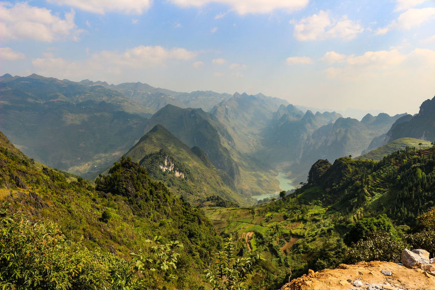Vietnam Vietnamphotography Vietnam Mountains Đồng Văn Mountain Scenics - Nature Beauty In Nature Tranquil Scene Environment Tranquility Cloud - Sky Sky Landscape Mountain Range Non-urban Scene Nature No People Idyllic Plant Day Green Color Tree Remote Land Outdoors Mountain Peak Range