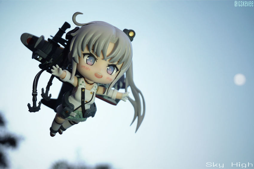 Akitsushima soars the skies with Taitei-chan! Akitsushima Kancolle Kantaicollection Anime Toyphotography Outdoor Photography Toy Nendoroid ねんどろいど Art Sky Selective Focus Outdoors Low Angle View No People Focus On Foreground Day Creativity Cloud Close-up Blue 艦隊これくしょん 艦コレ