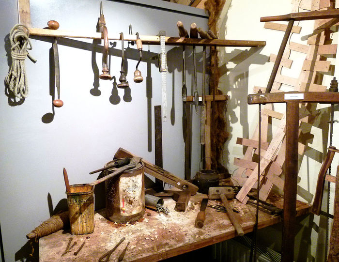view on historic shipyard workplace Carpenter Tools Carpentry History Indoors  Museum No People Old Ships Restore Ships⚓️⛵️🚢 Shipyardlife Tools Workbench Workplace Workplace View Zierikzee