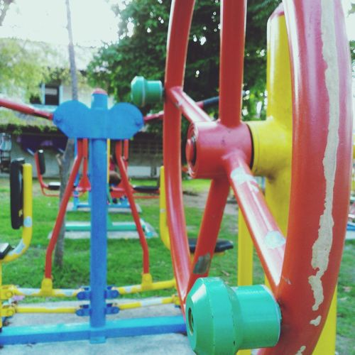 Playground Relaxing Taking Photos Enjoying Life