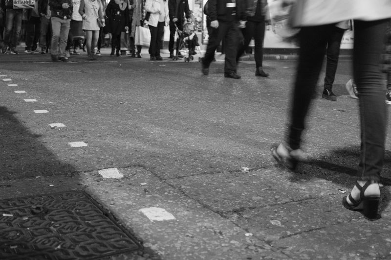 www.ivandimarcophotography.com People Street Urban Monochrome Portrait Walking Around The Human Condition