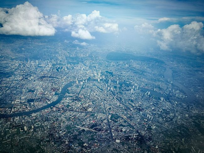 """"""" M y w a y """" Cloud - Sky Sky Backgrounds Beauty In Nature Outdoors On The Way My Way Love Is In The Air Hello World Travel Photography A Bird's Eye View Office Window My World ♥ Love To Take Photos ❤ We Fly Smiles Bangkok Thailand. Thailand Mook"""