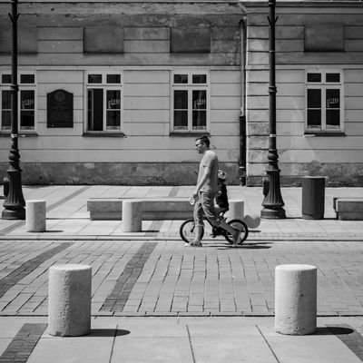 Streets of Warsaw Shades Of Grey Urban Lifestyle Streetphotography People Urban Blackandwhite Black And White Street Photography Fujifilm Fujifilm X-E2