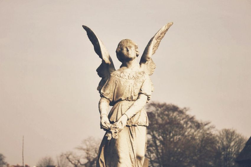 Angel of the South. Canonphotography Canon Afterlight Southsea Angel Graveyard Beauty Statue Minimalism