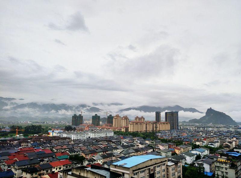 Zhejiang,China Small Town Cloudy China