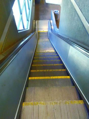 My Commute My Photography Transportation Bart Station Escalator