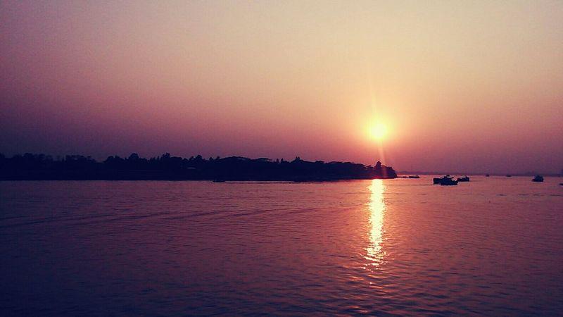 Sunset Evening Traveling Going Places Mobile Photography LifeinDhaka Bangladesh