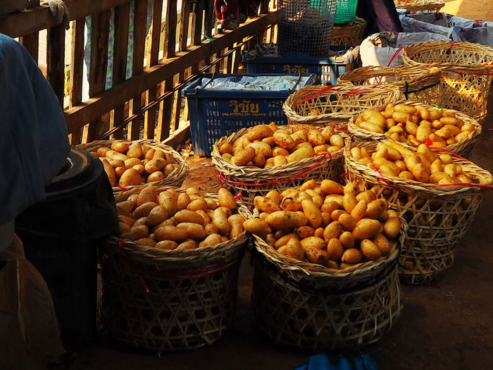 Fruits for sale in market stall