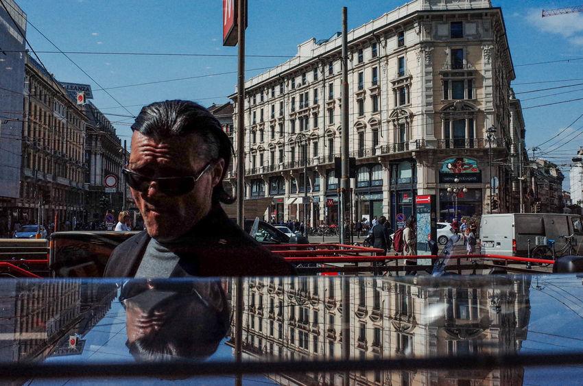 Fotogenik Collective TheWeekOnEyeEM Milan UNPOSED Architecture City Lifestyles Reflection Street Street Photography Streetphotography
