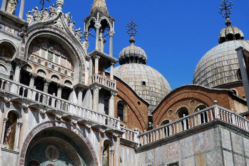 Good Old Days Italy Old Camera Panasonic  Panasonic Lx3 Saint Mark's Basilica St Mark Basilica Venice 2009 Charming Historical Building