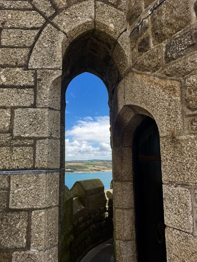 Arch Architecture Built Structure Sky History Day Old Ruin Sunlight Water Window Sea Architectural Column No People Nature Building Exterior Indoors  Travel Destinations Horizon Over Water Beauty In Nature