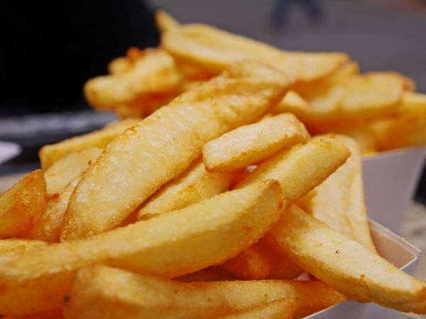 Belgium Fries Close-up Crunchy Day Deep Fried  Fast Food Focus On Foreground Food Food And Drink French Fries Freshness Fried Indoors  No People Potato Chip Prepared Potato Ready-to-eat Snack Take Out Food Unhealthy Eating