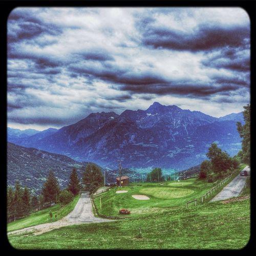 Gignod Golf Golfing