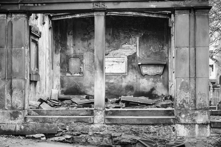 EyeEm Best Shots Abandoned Architecture Bad Condition Breaking Building Building Exterior Built Structure Damaged Day Decline Demolished Destruction Deterioration Door Entrance Eye4photography  House No People Obsolete Old Outdoors Ruined Run-down Weathered