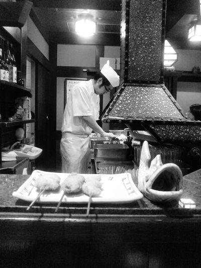 恵比寿 串の坊 串 串揚げ Japanfood